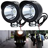 LEAGUE&CO Motorrad Fahrrad SUV ATV LKW 12V 80V 3W LED Scheinwerfer Fernlicht Nebellicht Tagfahrlicht (2)