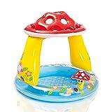 Longwei Kinderbecken Pilz Baby Shade Planschbecken Ozean Ball Pool Sand Pool Aufblasbar