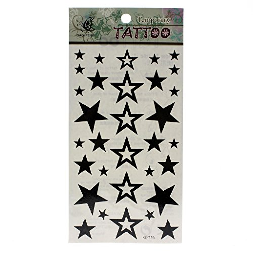 huntgold-2x-popular-black-stars-removable-waterproof-temporary-tattoo-diy-body-art-sticker