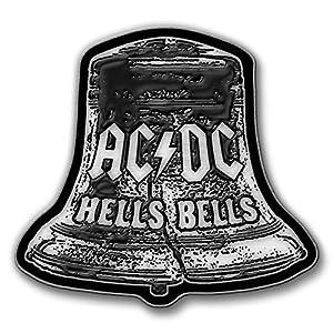 AC/DC METALL PIN # 32 HELLS BELLS ANSTECKER BADGE BUTTON – 4x3cm