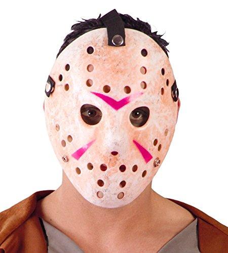 Maske Hockey Jason Kostüm (Fiestas Guirca GUI2641 -)