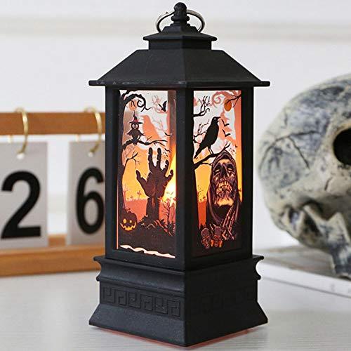 Halloween Dekoration LED Retro Simuliert Flamme Licht,Kerze Licht,Wind Licht für Wohnzimmer, Schlafzimmer, Schaufenster, Bar Dekoration,Candle_lamp2 (Uk 2019 Erwachsene Halloween-kostüme)
