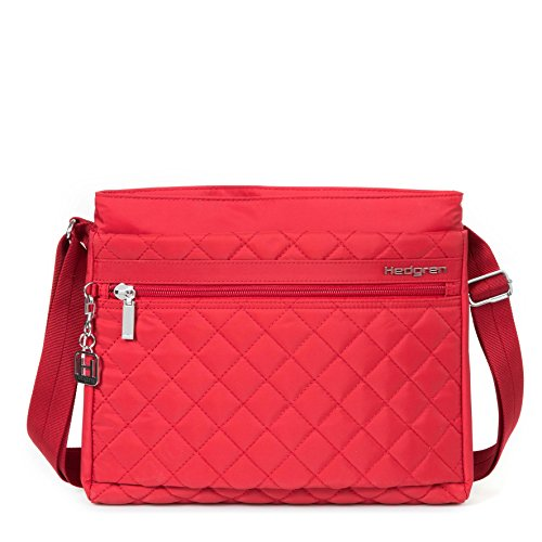 Hedgren Diamond Touch Strandtasche, 31 cm, New Bull Red