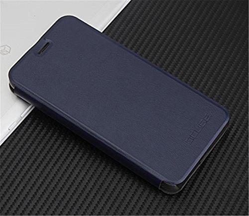Handyhülle für Blackview R6 Lite 95street Schutzhülle Book Case für Blackview R6 Lite, Hülle Klapphülle Tasche im Retro Design mit Praktischer Aufstellfunktion - Etui Blau
