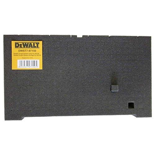 DeWalt DWST7-97150 - Colchoncillo para cajas Tough, inserciones de espuma