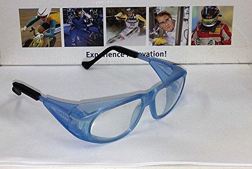 Uvex occhiali Occhiali protettivi da lavoro/Ironing 9134Meteor, azzurro, colore lenti: incolore, protezione: 2-1,2
