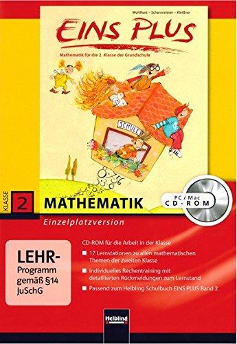EINS PLUS 2. Ausgabe D. Lernsoftware für die Klasse: Einzelplatzversion. Klasse 2 (EINS PLUS (D))