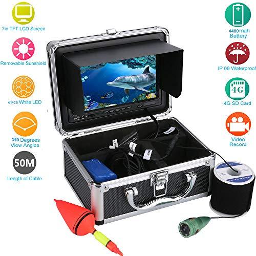 TQTQ 50,7 Meter Zoll Smart Sport Unterwasserkamera Unterwasserkamera HD Unter Wasser Visual Video Recorder Monitorsystem