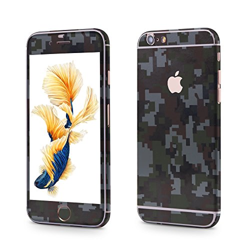 Apple iPhone 6 Plus, 6s Plus Sticker OKCS® Skin Folie Full Body Wrap Aufkleber Schutzfolie Protector Specials in Camo Green