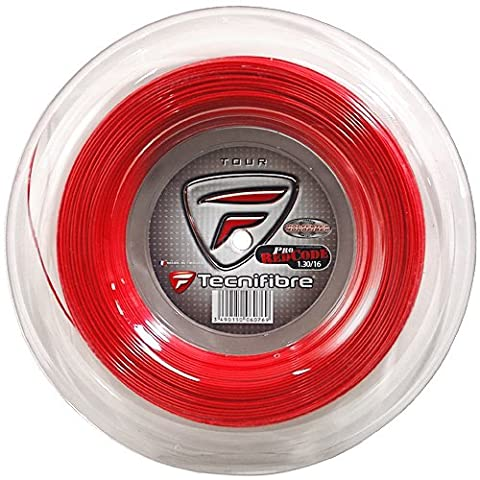 Tecnifibre Tennis String Pro Redcode 200m Reel Red (1.30mm/16G)