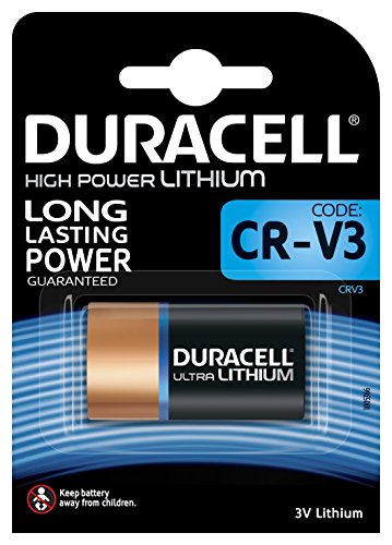 Duracell Ultra Power Photo - Pilas alcalinas CR-V3 (Litio, 3V)