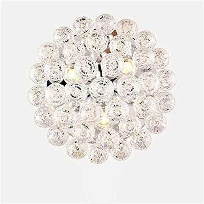 Dellemade 3- Leuchtet Kristall kronleuchter Modern Deckenleuchte Für Treppenhaus, Bar, Küche, Esszimmer, Kinderzimmer