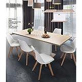Mesa de comedor extensible, ajustable, ligera, de interior o exterior, para pícnic, fiesta,...