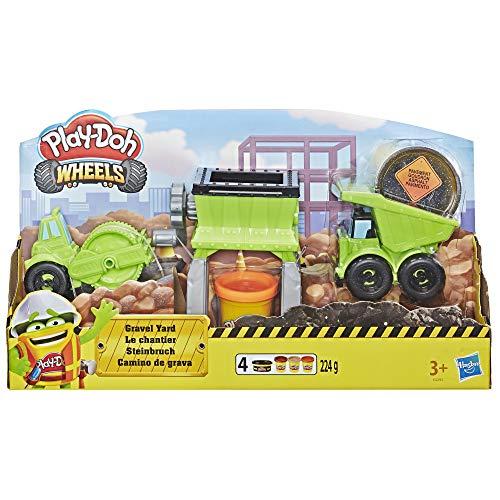 Hasbro Play-Doh Wheels E4293EU4 - Steinbruch Knete, für fantasievolles und kreatives Spielen