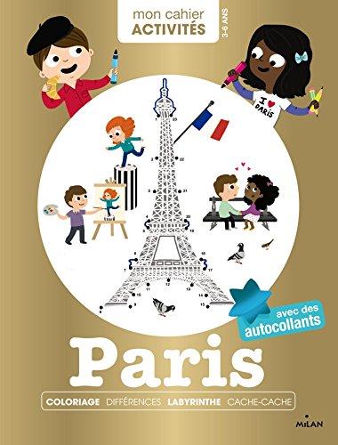 Mon cahier d'activités - Paris