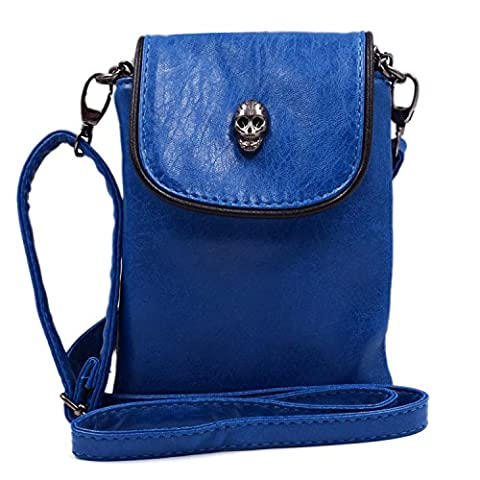 Women Single Shoulder Crossbody Bags, WITERY Gothic Studded Skull Head