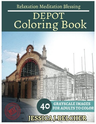 depot-coloring-book-for-adults-relaxation-meditation-blessing-building-coloring-book-sketch-books-re