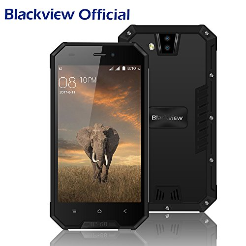 Outdoor Smartphone, Blackview BV4000pro Android 7.0, Dual-SIM Outdoor Handy Ohne Vertrag, 4,7
