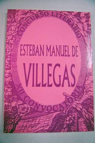 XII Concurso Literario Esteban Manuel De Villegas Nájera. Abril 2002