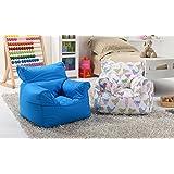 Lancashire Textiles niños Mini Bean Bag Bazaar/sillas con funda extraíble para niños y niñas