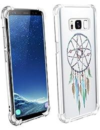 Beryerbi Funda Samsung Galaxy s8 Plus/S8 Funda Transparente Suave TPU Gel [Ultra Fina