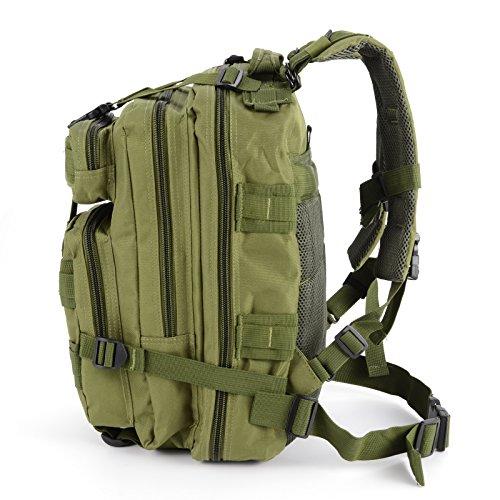 Imagen de cle de tous   bolsa militar táctico de hombre para acampada camping senderismo deporte verde  alternativa