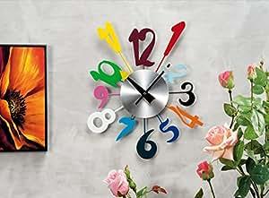Orologio vintage da muro parete con numeri arredo casa for Arredo casa amazon
