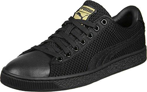 Puma Basket Tech Pack Scarpa nero oro