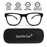 Sparkle Eye® Blue Ray Cut Anti-reflection Anti Glare UV420 Protection Unisex Spectacle Protects