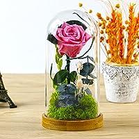 Regalo del día creativo de lkklily-valentine Creative rosa de regalo adorno de casa eterna flor