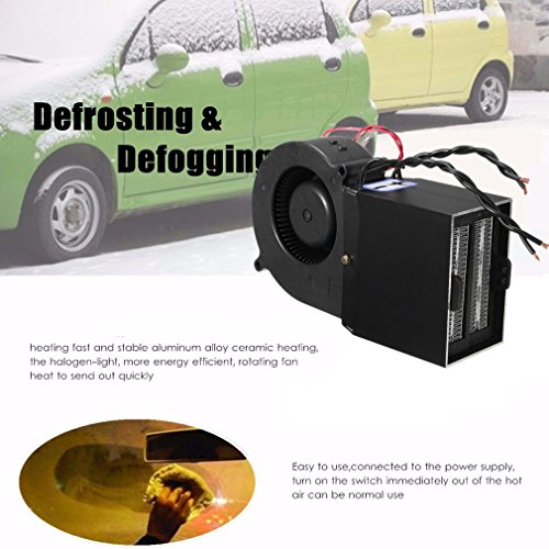 12V PTC Ceramic Car Heizung Heizung Hot Fan Defroster Demister mit Dual-Modi (Farbe: schwarz)