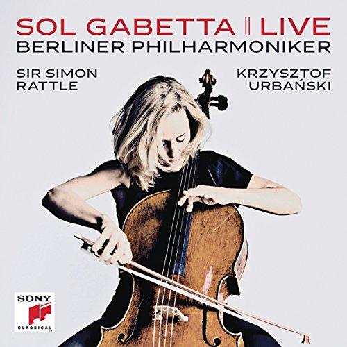 Preisvergleich Produktbild Sol Gabetta Live (Elgar & Martinu Cellokonzerte)