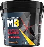 #2: MuscleBlaze High Protein Lean Mass Gainer (Chocolate, 11 lb/5 Kg)