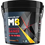 MuscleBlaze High Protein Lean Mass Gainer (Chocolate, 5 Kg / 11 Lb)