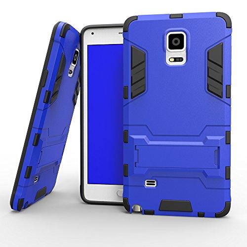 GALAXY J3 Hülle,EVERGREENBUYING Abnehmbare Hybrid Schein SM-J3109 Cases Ultra-dünne Schutzhülle Case Cover mit Ständer für Samsung GALAXY J3 (Gold+Schwarz) Blue