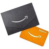 Amazon.de Geschenkgutschein in Geschenkkuvert (Schwarz und Silber) - mit kostenloser Lieferung am nächsten Tag