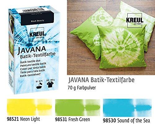 Batikfarben Set, 3 Batik Textilfarben im Set Pastellfarben