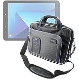 """Sacoche de transport noir et bleu pour Samsung Galaxy Tab S3 tablette écran 9,7"""" (SM-T820 / SM-T825) - DURAGADGET"""