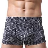 Boxers - Les Hommes Sexy Creuse Respirent des sous-vêtements Slip de Renflement des Shorts de Poche de Maille Ba Zha Hei