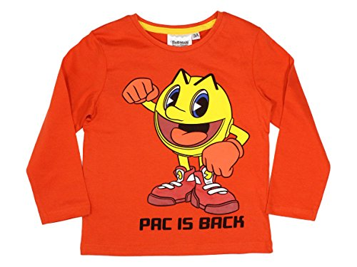 Official Boys Pac is Back Orange Shirt - 3-8 Years