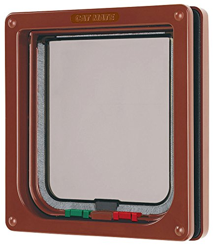 pet-mate-limited-4-way-locking-cat-flap-brown-165x174cm