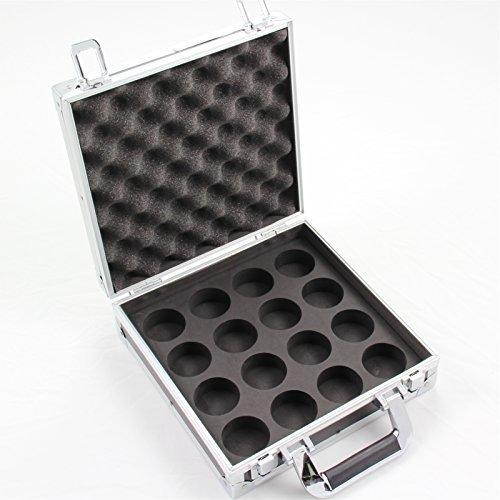 5.72 cm (2 1/4 inch) amerikanisches Billardkugel-Stil mit & Aluminium Aufbewahrungsbox