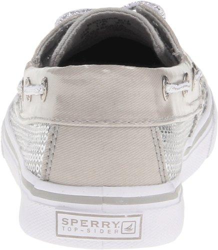 Sperry Kids BAHAMA YG48580A Mädchen Sneaker Silber (Silver)