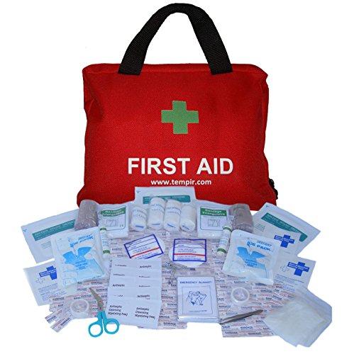 Erste-Hilfe-Set mit über 100 Teilen, für Reisen, Auto, zu Hause, Wohnwagen