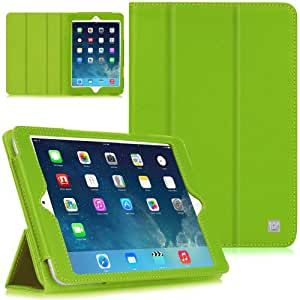 CaseCrown Bold Trifold Case (Green) for Apple iPad Mini 3 / Apple iPad Mini / iPad Mini with Retina Display (Built-in magnet for sleep / wake feature)