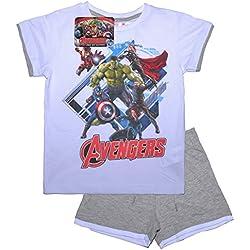 Oficial Marvel pijama de los Vengadores edad de Ultron | Iron Man Hulk Thor Capitán América pijama | imagen principal para ilustrar diferentes estilos multicolor Design 1 10 años