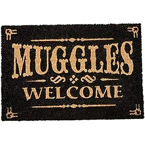 Pyramid International Felpudo Harry Potter Muggles Welcome, 60X40, Multicolor 15