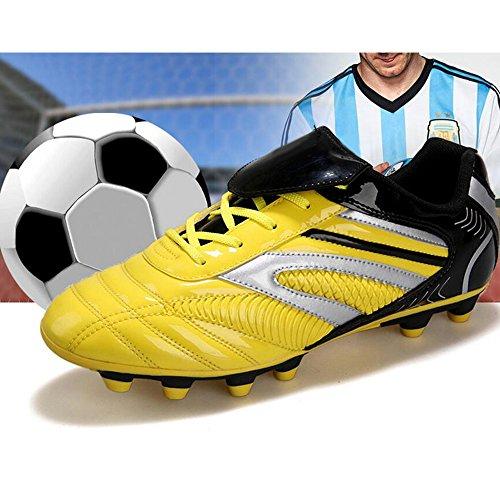 Eastlion Herren Und Kinder Jungen Atmungsaktiv Armeentarnung Sportschuhe Turnschuhe Laufschuhe Fußballschuhe Trainer Schuhe Rot