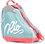 Rio Roller Script Skate Bag, Bolsa de tela y de playa Unisex Adulto, Multicolor (Teal/Coral), 24x15x45 cm (W x H x L)