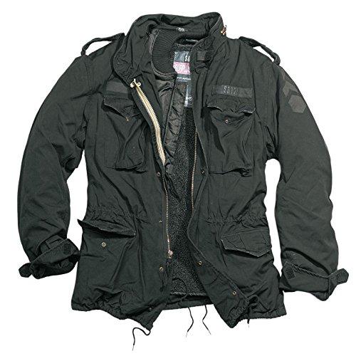 Delta Giant Herren M65 Regiment Jacke, schwarz, Größe XL